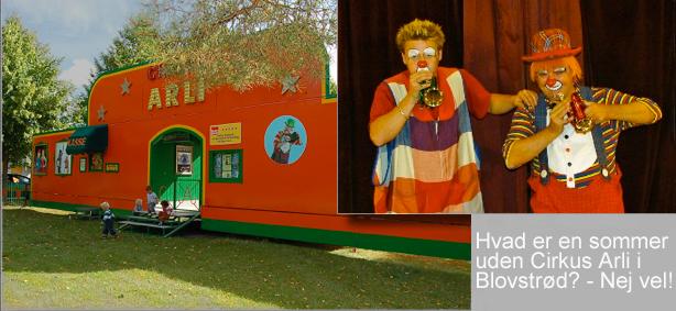 Også i år stiller Cirkus Arli sit telt op på Vestervang ved 'Det grønne område'. Arkivfoto: AOB