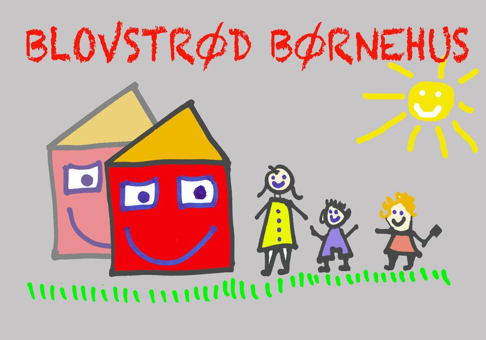 På sigt bør 'Blovstrød Børnehus' udvides i relation til den nye Blovstrød-bebyggelse. Illustration AOB