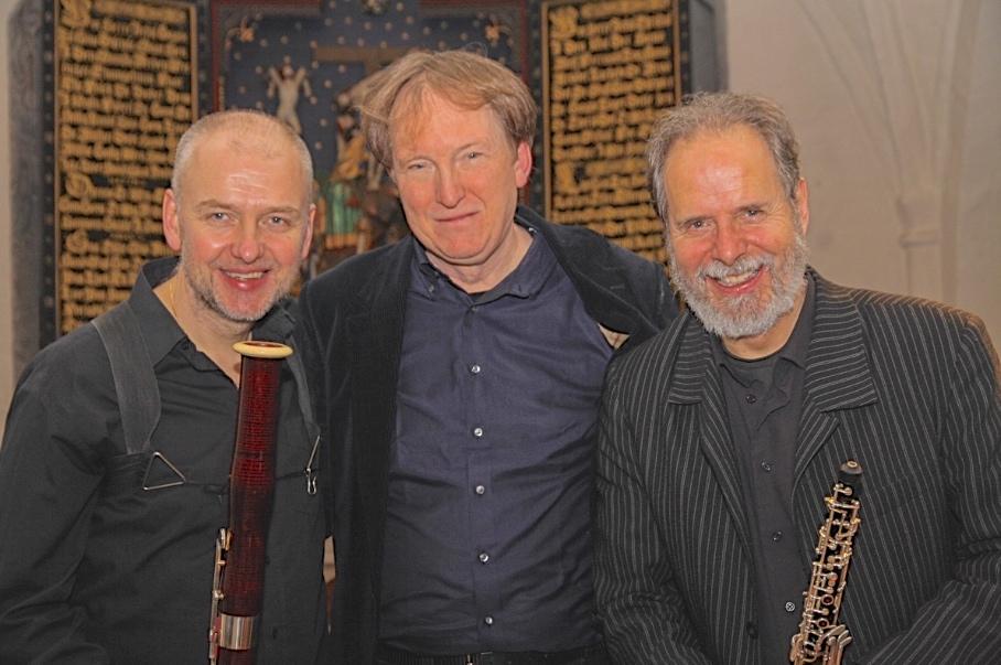 Trio Anassa: Magnus Nilsson, fagot -Henrik Bo Hansen, klaver og orgel -Henrik Goldschmidt, obo