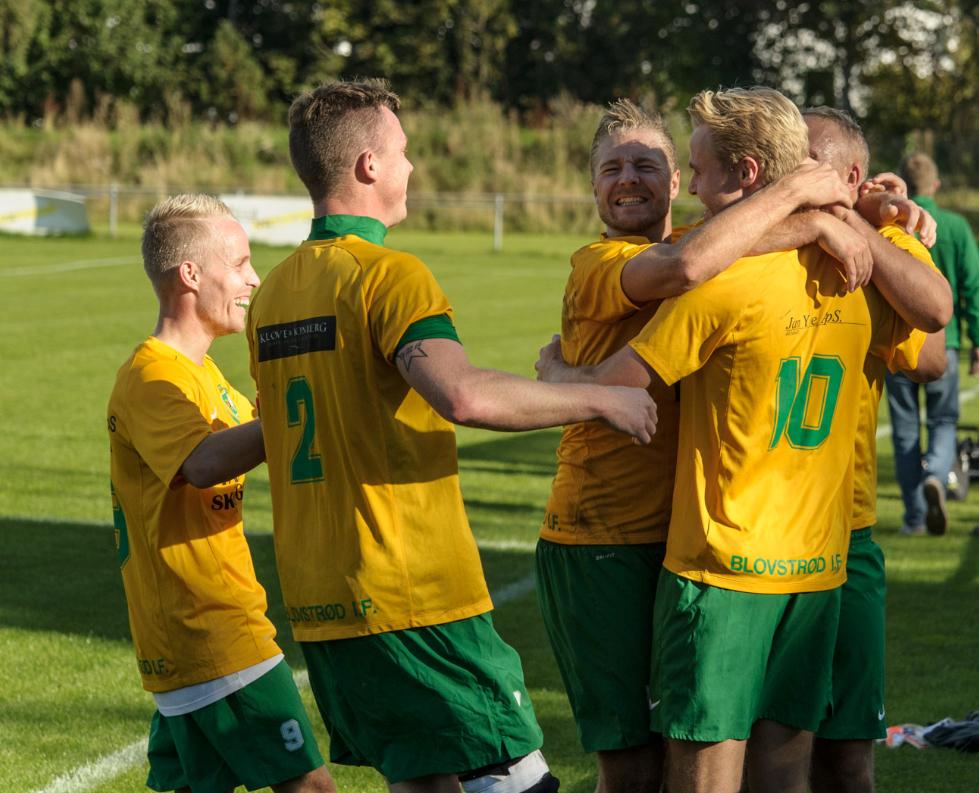 """""""Lad det bedste hold vinde!Kom så gutter, kom så Blovstrød!"""" Foto:Phillip Nørgaard"""