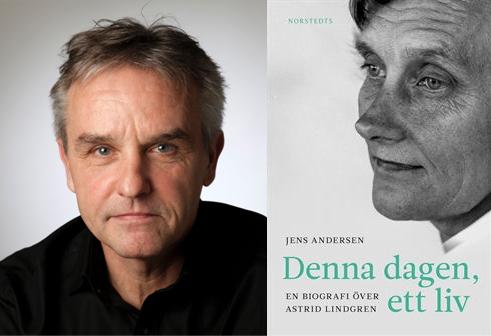 Foredrag i Blovstrød Sognegård om Astrid Lindgren ved forfatter Jens Andersen