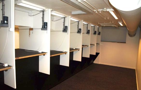 Der er nu otte nye standpladser med hæve- sænkeborde, og hele anlægget er blevet sikkerhedsgodkendt af politiet.