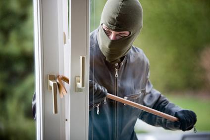 Undgå omfanget af indbrud. Temafoto