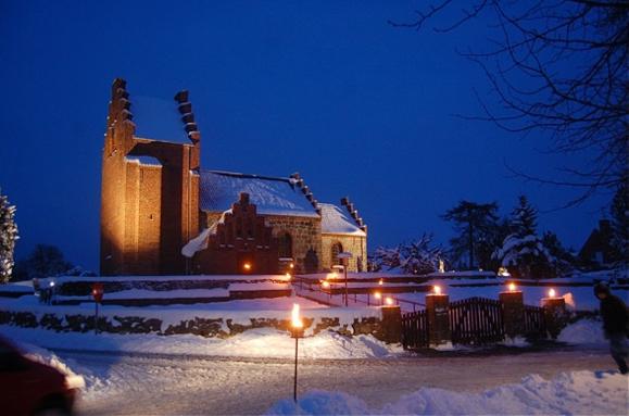 Blovstrød Kirke. Arkivfoto: AOB