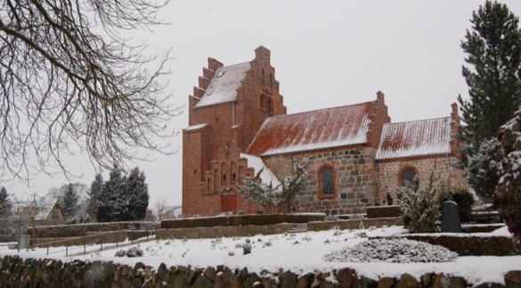 Blovstrød Kirke.Foto: AOB