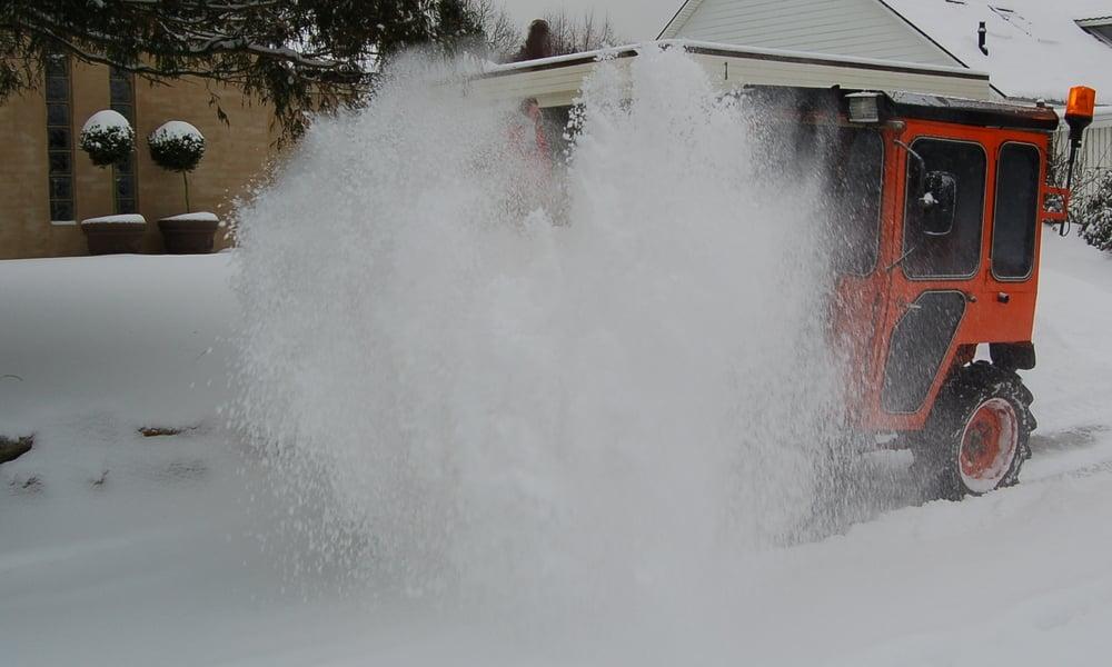 Det er kun fortovene, som grundejerne skal rydde for sne. Foto: AOB