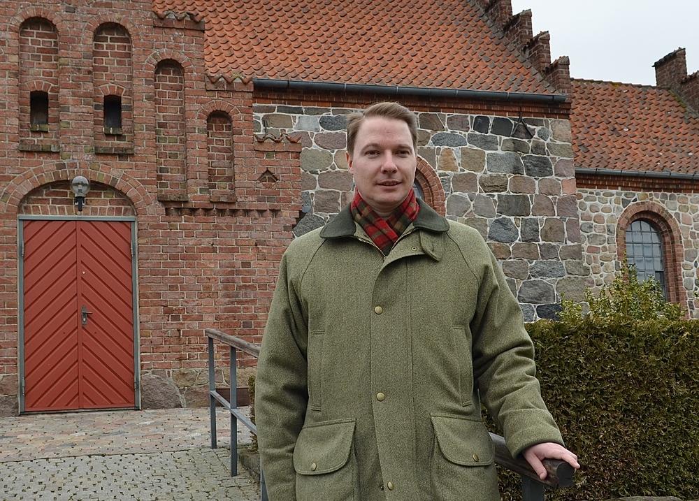Sognepræst Poul Steenberg indtrådte som barselsvikar for Kristine K. Ravn fra den 29. april, sidste år. Foto: AOB