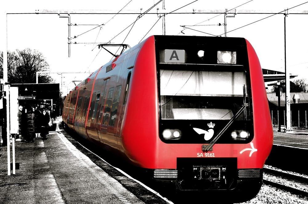 S-toget til og fra Hillerød har som bekendt skiftet line-betegnelse fra E til A og nu ændres køreplanen også. Foto:AOB
