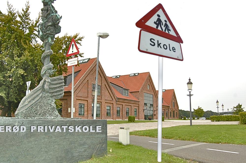 Allerød Privatskole har skrevet under på en lejekontrakt med Ny Allerødgård, der tidligere husede Sjælsø Gruppen. Manipuleret foto: AOB