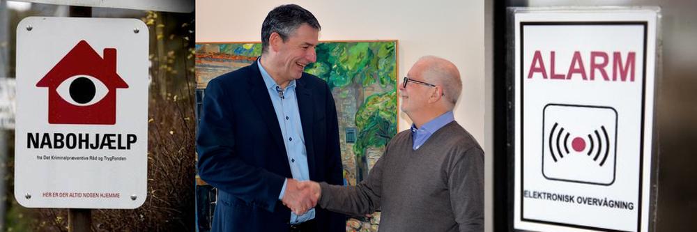 AOB har indgået en aftale om at være kontaktformidler til kommunen i forbindelse med kriminalitet og utryghed i Blovstrød. Foto: AOB