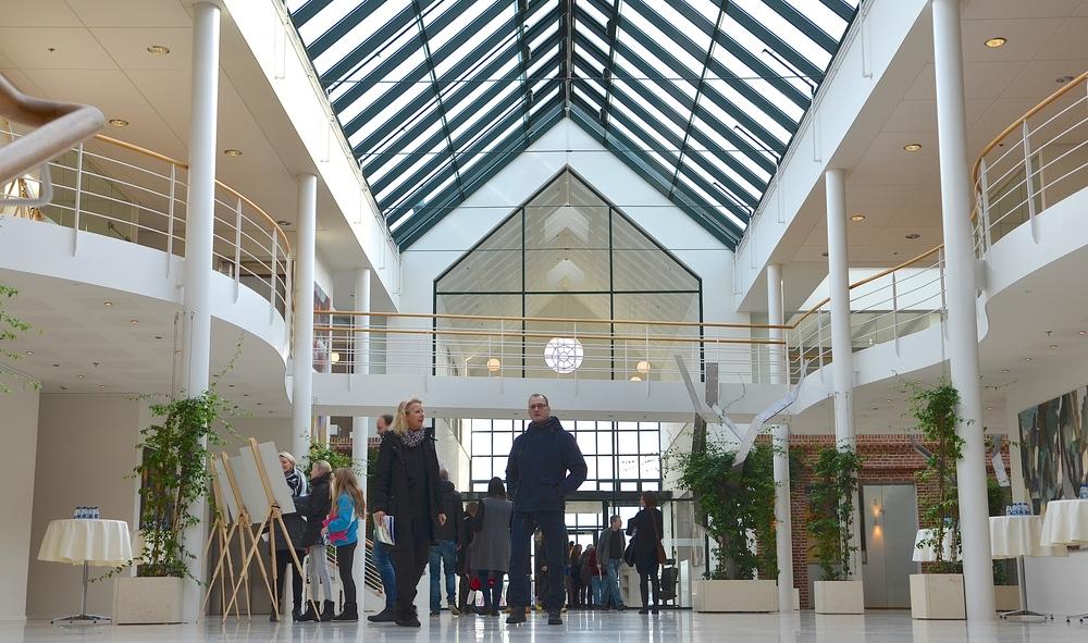 Der er ingen tvivl om, at Allerød Privatskole vil få unikke rammer. Foto: AOB