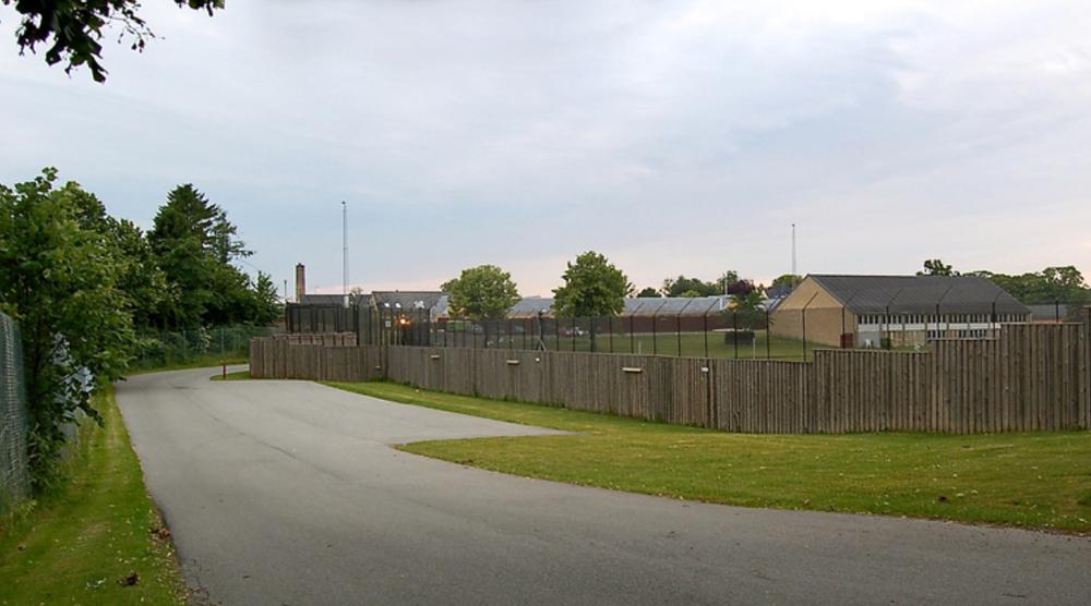 Ellebækfængslet ved Center Sandholm. Arkivfoto: AOB