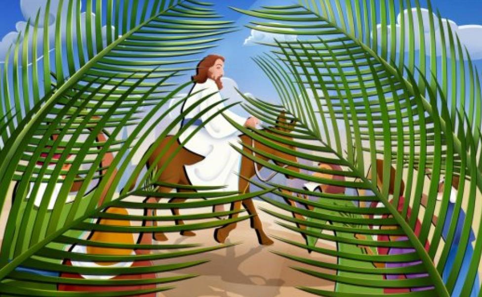 Det er palme-søndag den 20. marts, at der afholdes børne- og familiegudstjeneste.