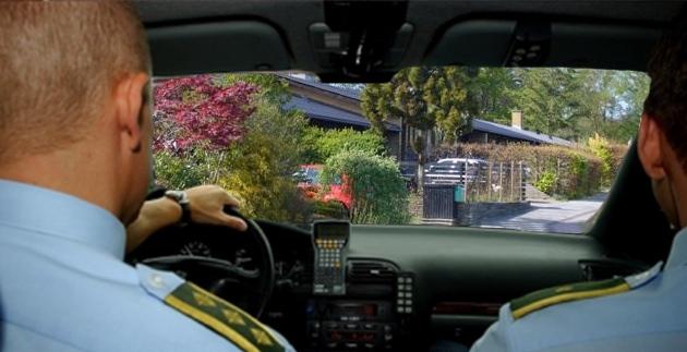 Et vidne havde set to indbrudstyve stikke af i en bil i høj hastighed ved Sjælsøparken.