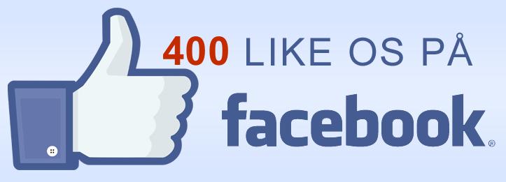 Netop i dag har vi nået 400 læsere, som synes godt om 'Alt Om Blovstrød'!