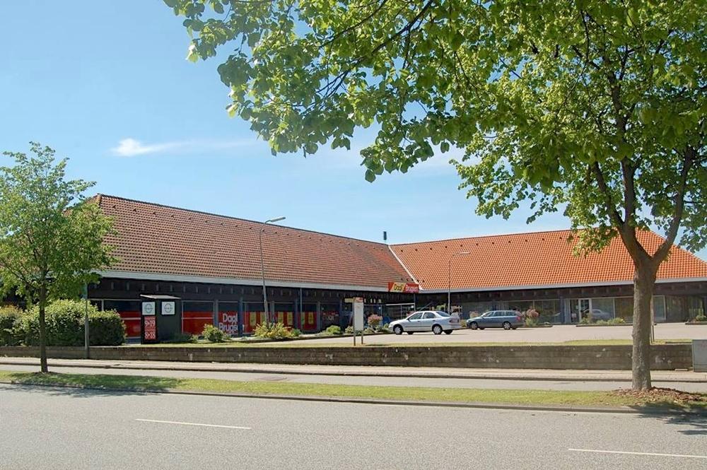 Den gang der ikke var noget der hed Netto i vor by, men hvor Dagli'Brugsen var centrum i Blovstrød. Arkivfoto: AOB