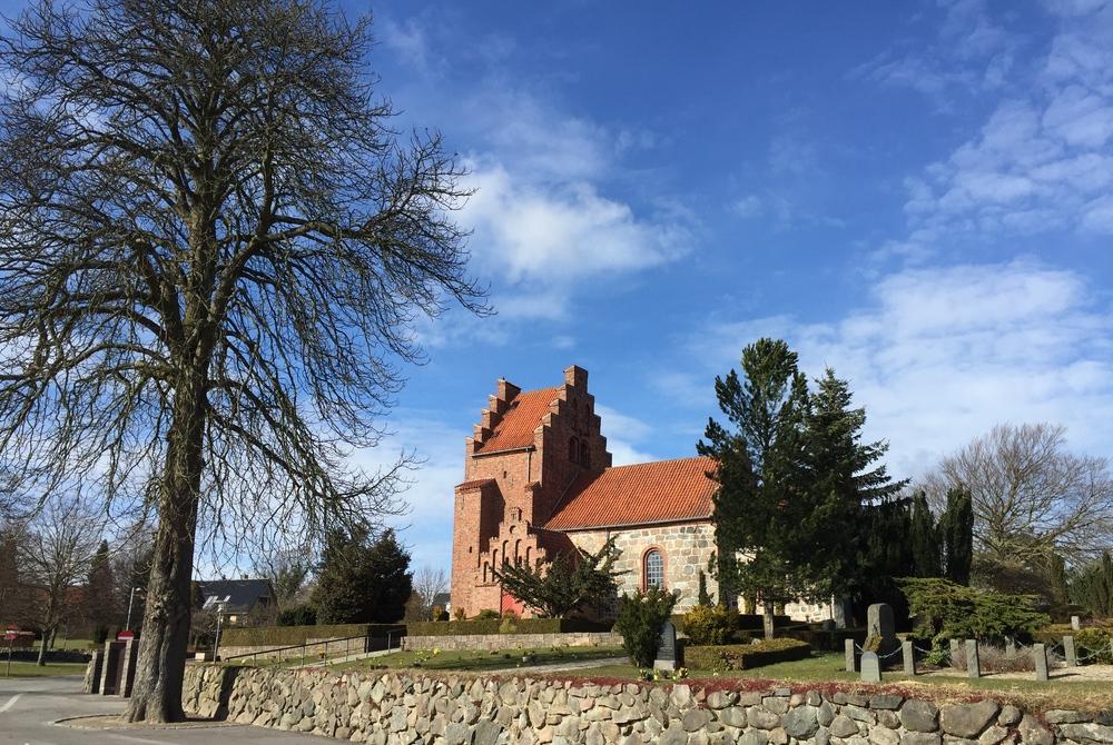 Der er 31 konfirmantioner i år i Blovstrød Kirke. Foto: AOB