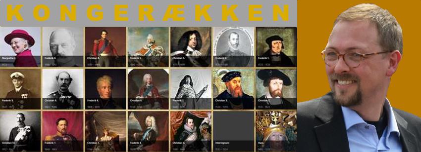I Asser Amdissens foredrag er det ikke vigtigt med årstallene og numrene, men fokus er sat på at fortælle de gode historier, som er til at huske og gøre kongerækken levende.