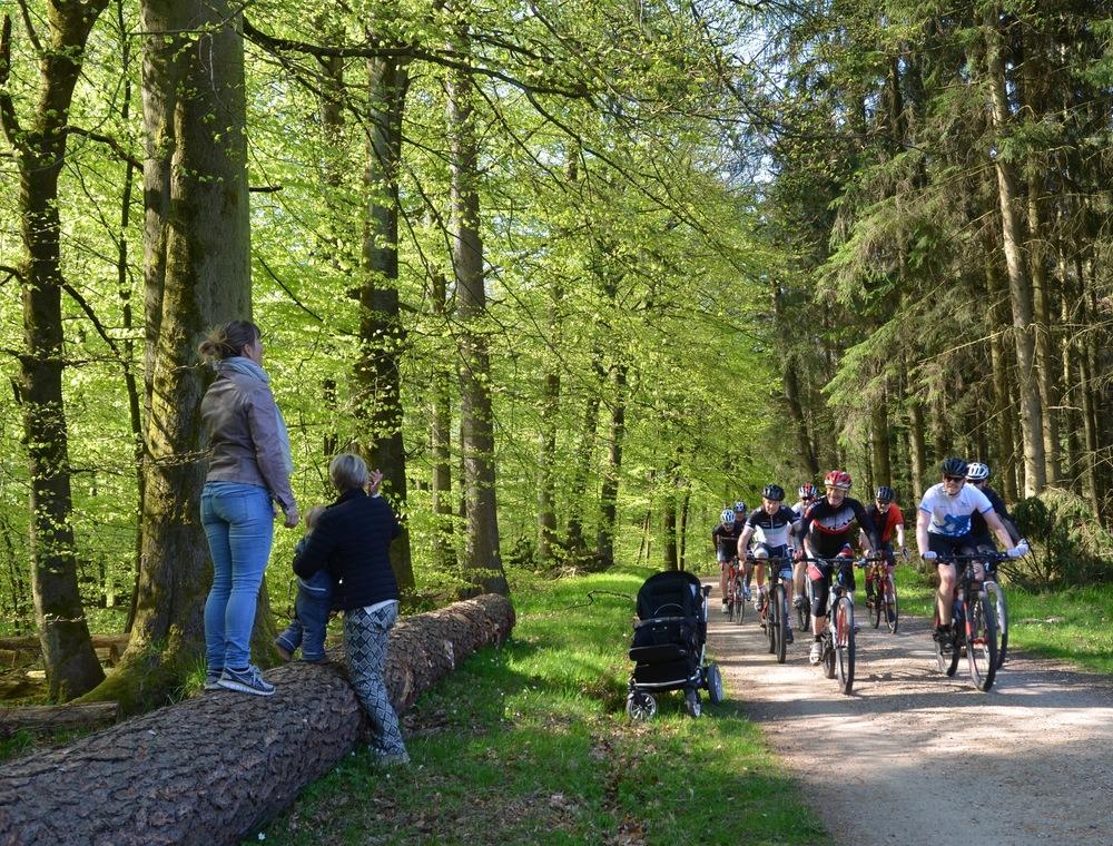 Cykelklubben benytter flittigt Tokkekøb Hegn ... Foto: AOB