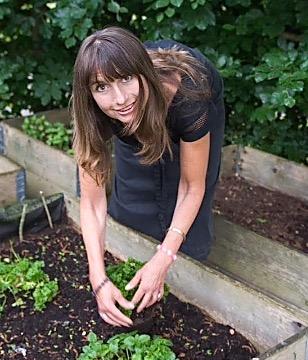 """Camilla Juhl Lemche: """"En overvejende økologisk tankegang, hvor man bruger mange grøntsager, linser, bønner, m.m."""""""