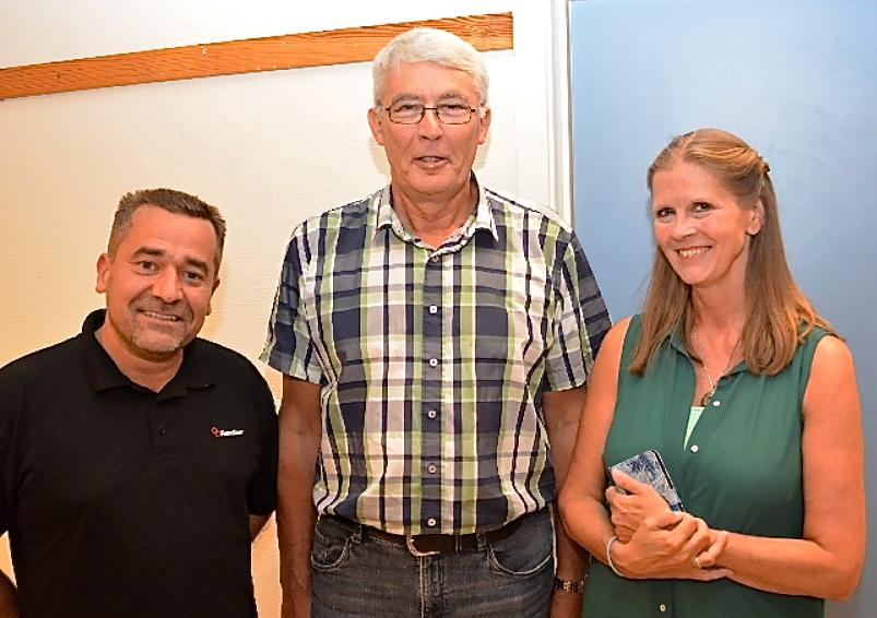 Fra venstre: Kim Enevoldsen, Jørgen Lund og Gitte Damgård.Foto:   Philip Sampson