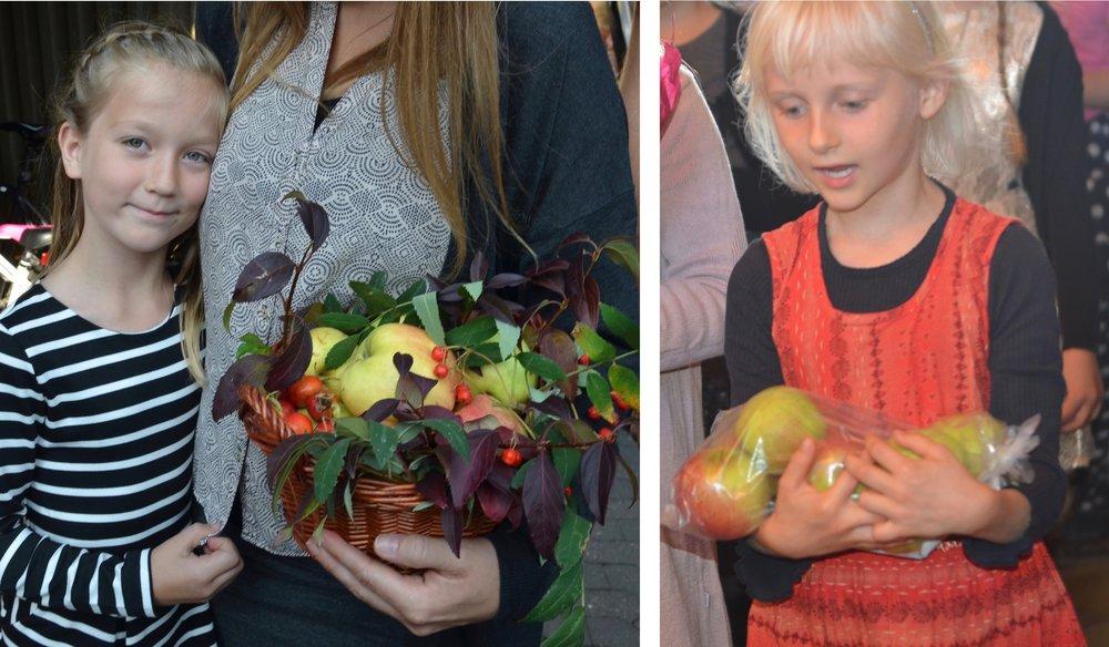 """""""Se børn til kirken bærer en dejlig frugt fra mange hjem..."""""""