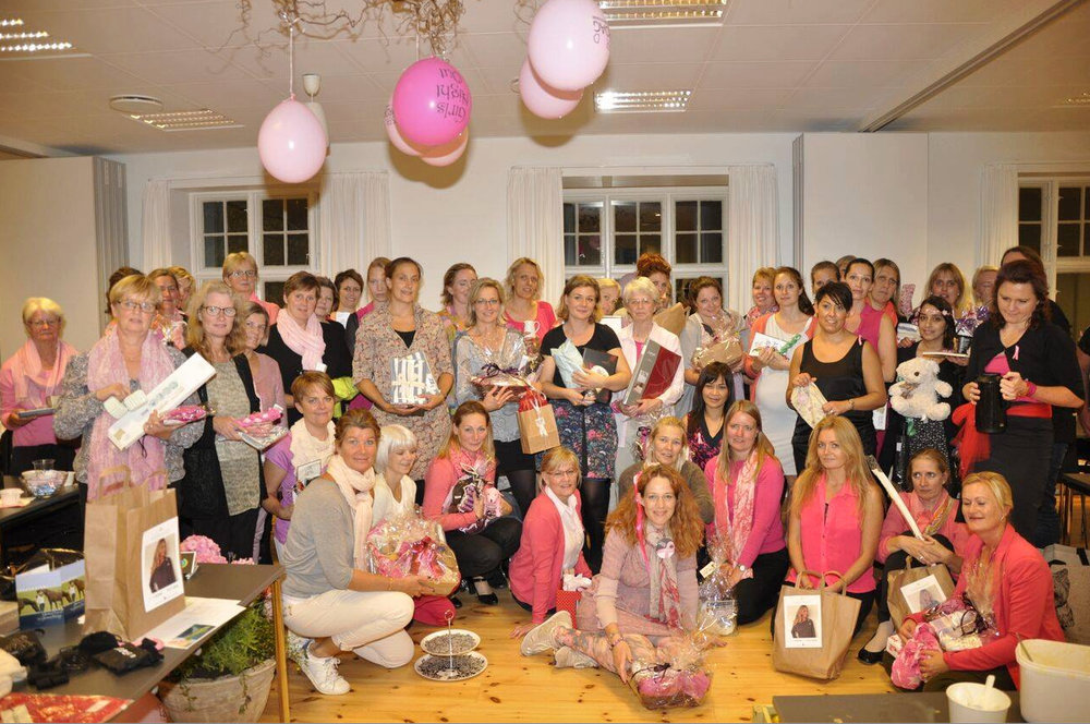 Sidste år var der 50 damer, som deltog (fotoet). I år er der 'fuldt hus' med 65 tilmeldte damer. Arkivfoto:Caroline Wolffbrandt