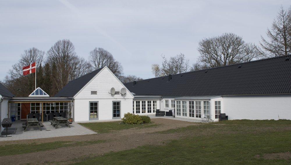 KFUMs s oldaterhjem ved Høvelte Kaserne. Foto: AOB