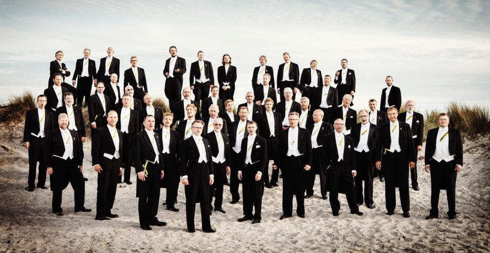 Studenter-Sangforeningen - Danmarks største og ældste mandskor - synger julen ind i Blovstrød.Foto:Andreas Houman, Das Büro