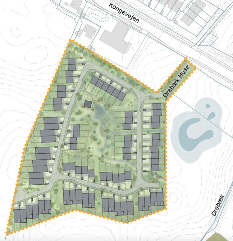 AOB kunne den 26. januar vise lokalplanen for den første bebyggelse vest for Kongevejen. LÆS ARTIKEL