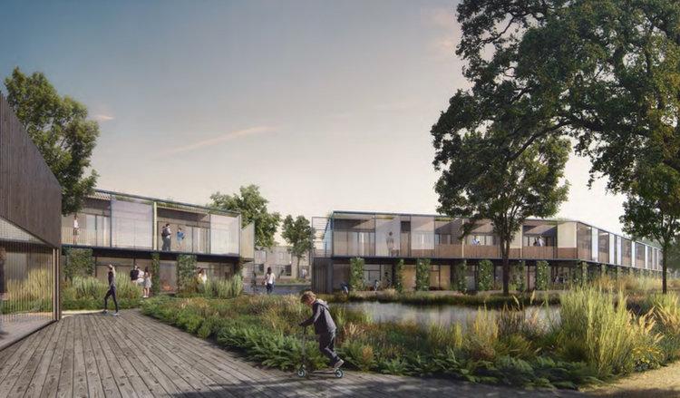 Lokalplanen for 'Ved Teglskoven' giver mulighed for, at området kan anvendes til boligformål i form af tæt-lav samt etageboliger i 2 planer. LÆS ARTIKEL