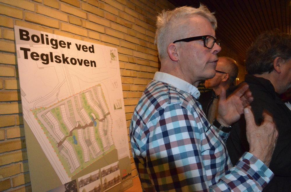 Projektleder Per Jensen fortalte, at Lejerbo vandt konkurrencen sammen med White arkitekter. Foto: AOB