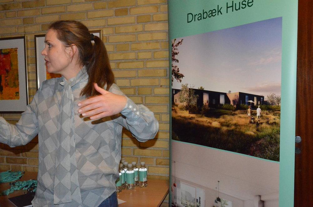 Bonava fik også mange henvendelser om Drabæk Huse. Foto: AOB