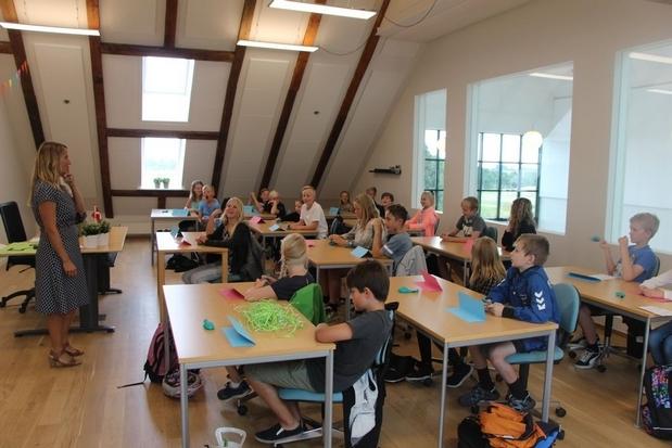 """Skoleleder Mikkel Kofod Løvenhøj siger: """"Interessen for skolen er fortsat rigtig positiv."""""""