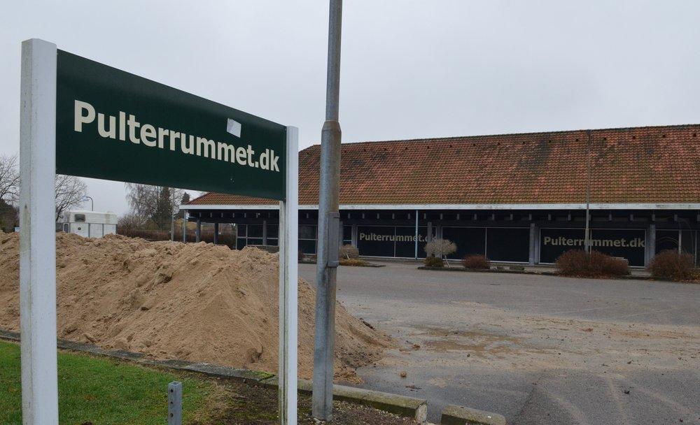 'Pulterummet' i Blovstrød skal nu ombygges til lejligheder - derfor er opbevaringsmulighederne nu flyttet til Gydevang i Allerød. Foto:AOB
