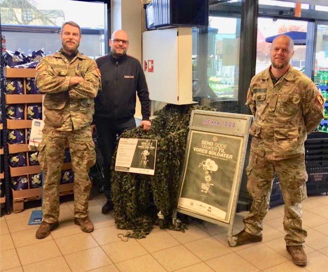 Jesper og Rene vil gerne opfordre til at man komme og støtter vores udsendte soldater.
