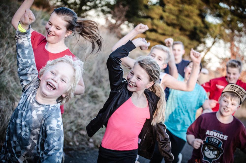 Med deltagelse i Team Rynkeby Skoleløbet skal eleverne fra bl.a. Allerød Privatskole være med til at samle penge ind til Børnelungefonden. Foto:Thomas Nørremark