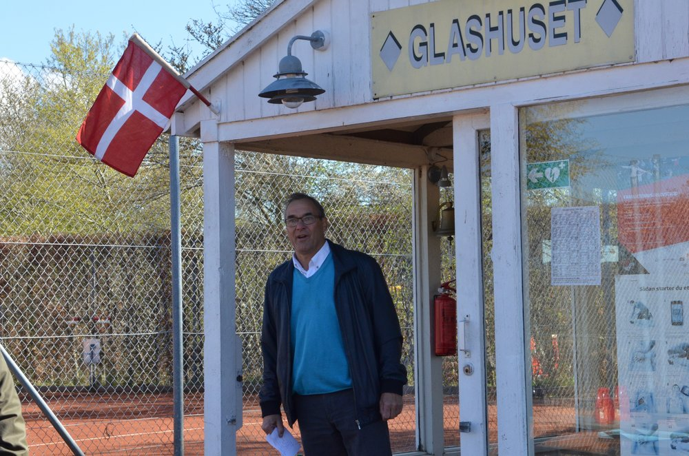 Formanden Gunnar Olsen bød velkommen til 2017-sæsonen. Foto: AOB