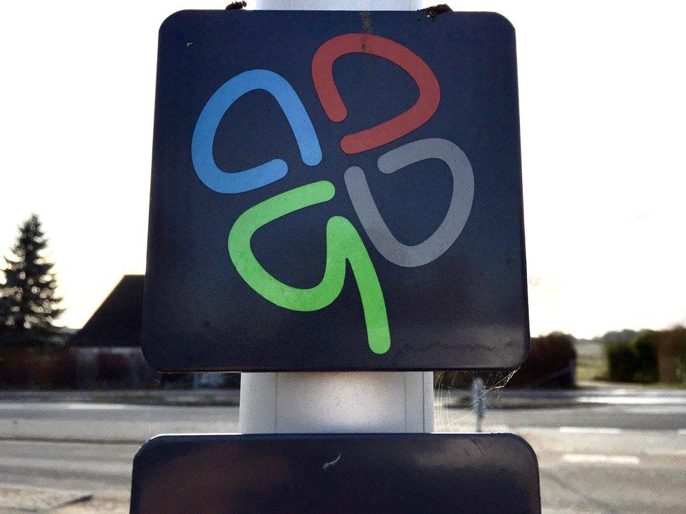 10. spørgsmål: Er det logoet for Blovstrøds nye firkløverforening?