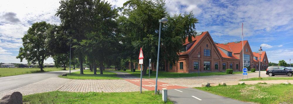 Allerød Kommune igangsætter nu forbedringer af trafiksikkerheden omkring Allerød Privatskole og arbejdet forventes færdigt til skolestarten i august måned. Foto: AOB