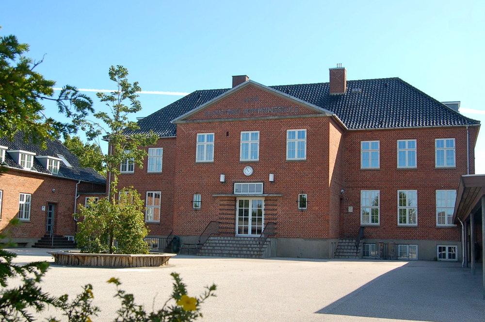 Blovstrød Skole - en velfungerende skole i vækst. Foto: AOB