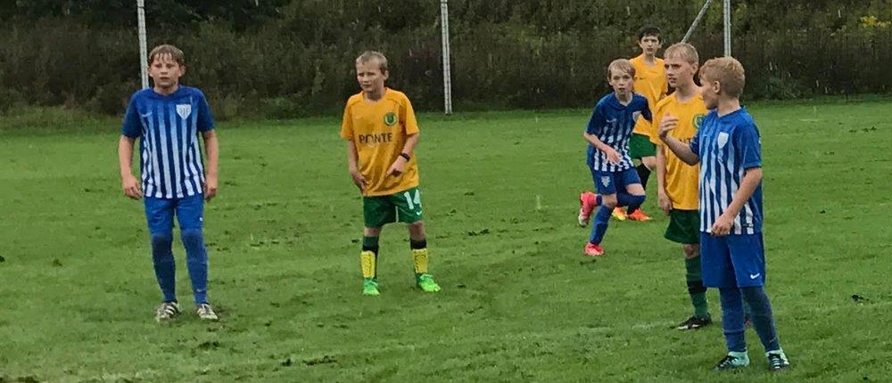 Allerede efter 20 minutters spil stod der 3-0 til Blovstrød.Foto:Bo Thorenfeldt Poulsen