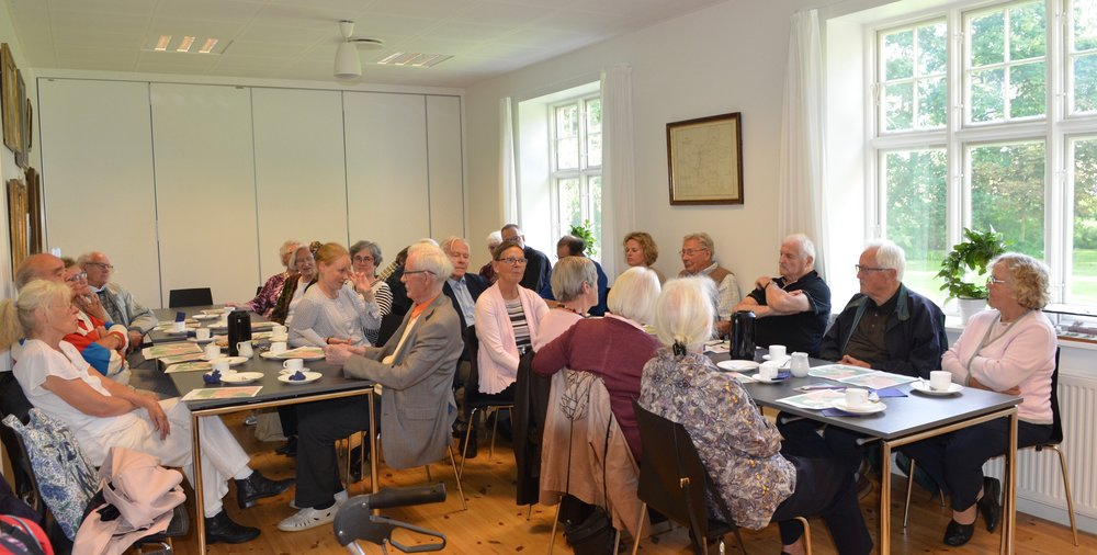 Der kom mange kommentarer fra de fremmødte sognemedlemmer.  Foto:AOB