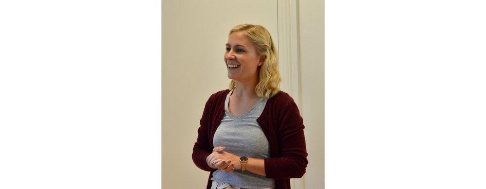 Menighedsrådsformand, Line Kristiane Vincentz Larsen. Foto: AOB