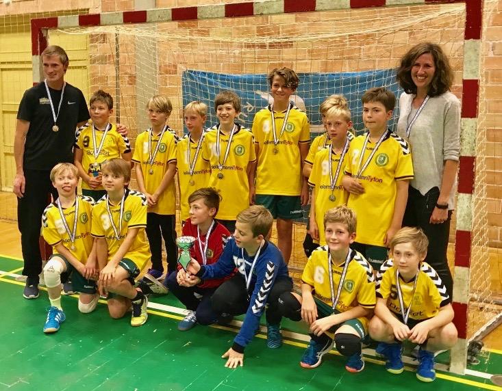 Blovstrøds håndbolddrenge stillede i weekenden op som forsvarende mester i Rudersdal Cup. Det endte med sølvmedaljer. Foto:   Bo Thorenfeldt Poulsen
