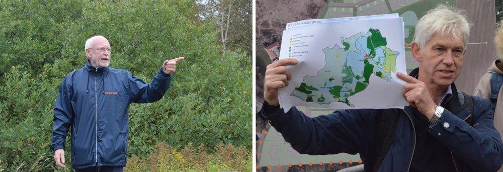 Olav B. Christensen og  Niels Kirkegaard orienterede løbende under hele arrangementet. Foto:AOB