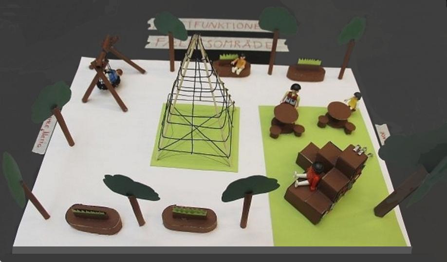 Projektet 'Midtpunktet' med Allerød Torv havde til hensigt at omdanne torvet til et multifunktionelt fællesområde med karakter som en park, idet der skulle plantes flere træer og være arealer med græs.
