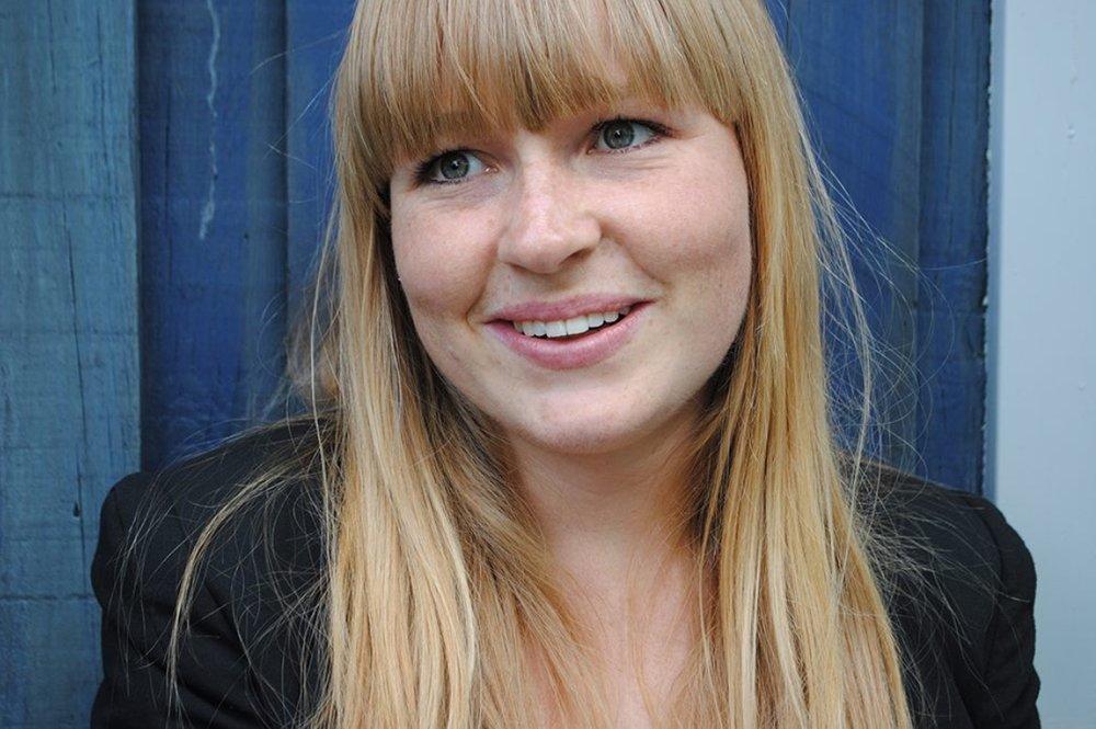 Vindren af konkurrencen blev vores sognepræst her i Blovstrød, Kristine Krarup Ravn.