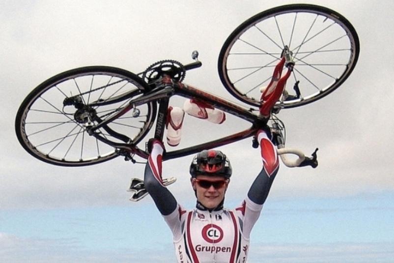 Julius Johansen fra Blovstrød betragtes som et af de største talenter nogensinde i dansk cykling. Arkivfoto