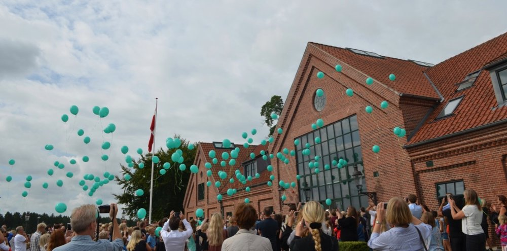 Privatskolen lukkede op til første skoleår (2016/17) med 223 indskrevne elever, og til skolens andet skoleår var skolen vokset til 376 elever. Skolen forventer nu at blive stort set fyldt op med 480 elever til det kommende skoleår. Foto:AOB